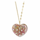 BETSEY JOHNSON Large Candy Heart Gold
