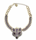 BETSEY JOHNSON Large Fox Pendant