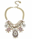 BETSEY JOHNSON Light Purple Flower Necklace