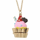 BETSEY JOHNSON Paris Cupcake Necklace