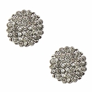 BETSEY JOHNSON Pave Crystal Studs