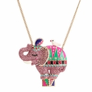 BETSEY JOHNSON Zoo Elephant Necklace