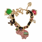 BETSEY JOHNSON Zoo Elephant Toggle Bracelet