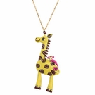 BETSEY JOHNSON Zoo Giraffe Necklace