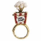BETSEY JOHNSON Zoo Popcorn Stretch Ring