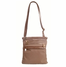 CoLab Sadie Nylon Cross Body Bag-Taupe