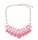 JEST JEWELS 3 Row Enamel Ombre Pink