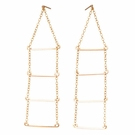 Long Ladder Earrings-Gold Filled