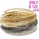 LOOK OF REAL Thin Pave Rhinestone Bracelet