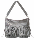 MZ WALLACE Hayley Gunmetal Twill Bag