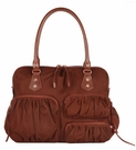 MZ WALLACE Kate Mahogany Bedford Bag