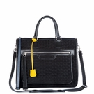 MZ WALLACE Quilted Britt Black Bag
