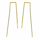 Spike Threader Earrings Length-Gold Filled