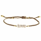 TAI Love Bracelet-Tan