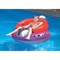 Blue Wave UFO Spaceship with Squirt Gun Inflatable