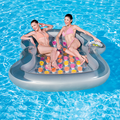 Inflatable Double Designer  Pool Lounger Float