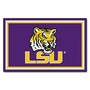 NCAA Louisiana State University  FanMats 4x6 Area Rug