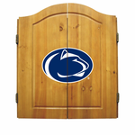 NCAA Penn State University Imperial Dart Board and Cabinet
