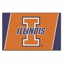 NCAA University of Illinois FanMats 4x6 Area Rug