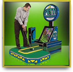 Putt Championship Miniature Golf Home Edition Arcade Game