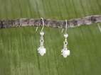 All Sterling Vertebra Earrings