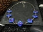 Blue Cloisonne Necklace