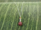 Corset Pendant Necklace with Mookaite