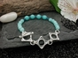 Cove Bracelet with Amazonite & Apatite