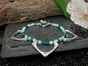 Luna Bracelet with Amazonite & Apatite
