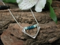 Luna Necklace with Amazonite & Apatite