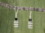 Pillar Stack Earrings<BR>with Black Onyx