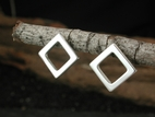 Simple Square Post Earrings
