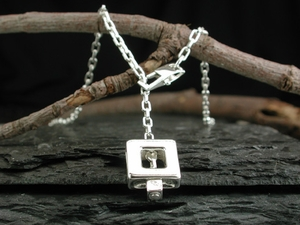 Square 47 Slide Necklace