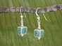 Square Porcelain Earrings