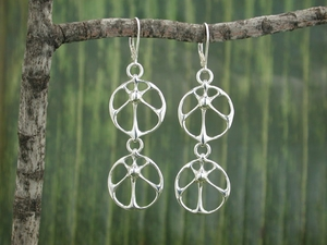 Sun Twin Earrings