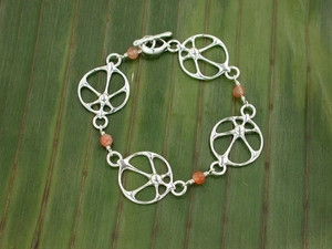 Sunray Bracelet with Sunstone