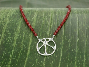 Sunshine Necklace with Carnelian