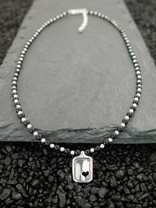 Sweet Heart with Black Onyx