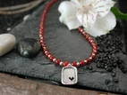 Sweet Heart with Carnelian