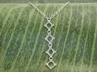 Vertical Wave Necklace