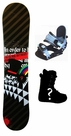 120cm  SLQ Perfect Camber Kids Snowboard, Boots, Bindings Package or Deck, U Build It