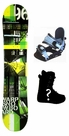 130cm  Warp Green Camber Kids Snowboard, Boots, Bindings Package or Deck, U Build It