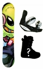 145cm  Skyrock Alien Camber Mens Snowboard, Boots, Bindings Package or Deck, U Build It