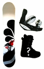 145cm  Westige Bonsai Camber Mens Snowboard, Boots, Bindings Package or Deck, U Build It