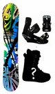 152cm  Division Eye-Opener-Blue Camber Mens Snowboard, Boots, Bindings Package or Deck, U Build It