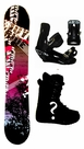 155cm  Joyride Bush-Ride Rocker  Snowboard, Boots, Bindings Package or Deck, U Build It
