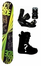 150cm  Joyride Disco-Yellow Rocker Mens Snowboard, Boots, Bindings Package or Deck, U Build It