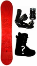150cm  SLQ Why-Red Rocker Mens Snowboard, Boots, Bindings Package or Deck, U Build It
