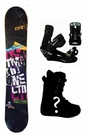 150cm  TwoBOne Keep-Away-Black Rocker Mens Snowboard, Boots, Bindings Package or Deck, U Build It