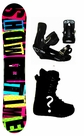 150cm  TwoBOne Showtime Camber Mens Snowboard, Boots, Bindings Package or Deck, U Build It